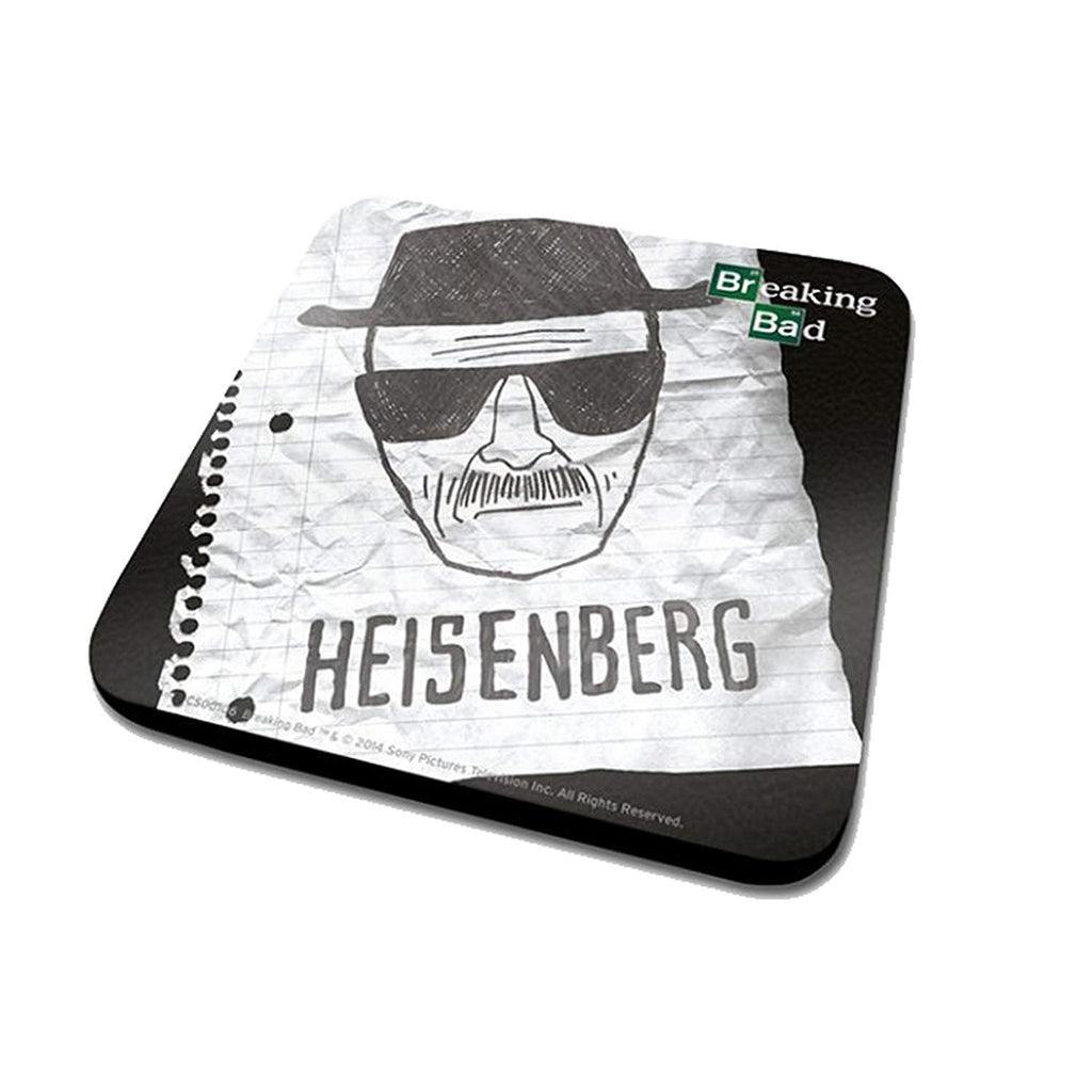 Breaking Bad (Heisenberg Paper) Coaster