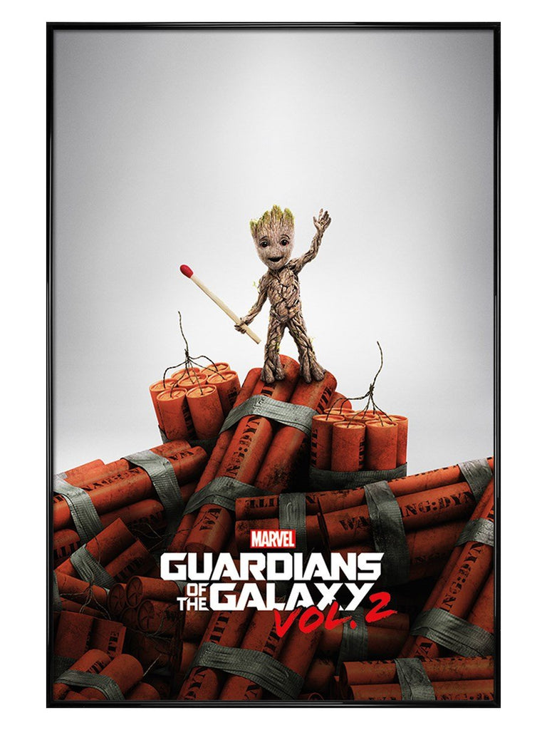 Marvel - Guardians Of The Galaxy Vol. 2 (Groot Dynamite) Poster