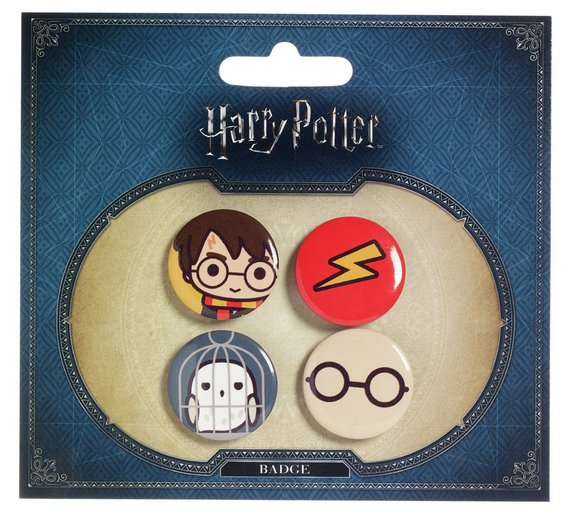 Harry Potter - Set 1 Harry/Hedwig/Lightning Bolt/Glasses