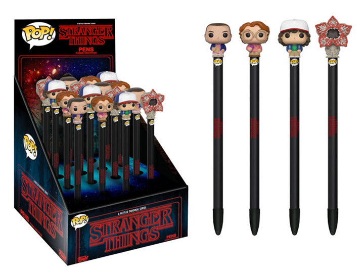Stranger Things - POP! Pen Toppers: Assorted 16pc PDQ (CDU 16)