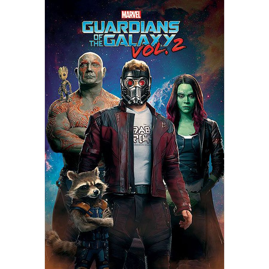 Marvel - Guardians of the Galaxy Vol, 2 (Characters In Space) Poster