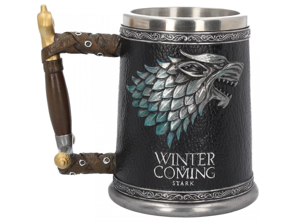 Game of Thrones - Winter is Coming Tankard 14cm  Colour Box