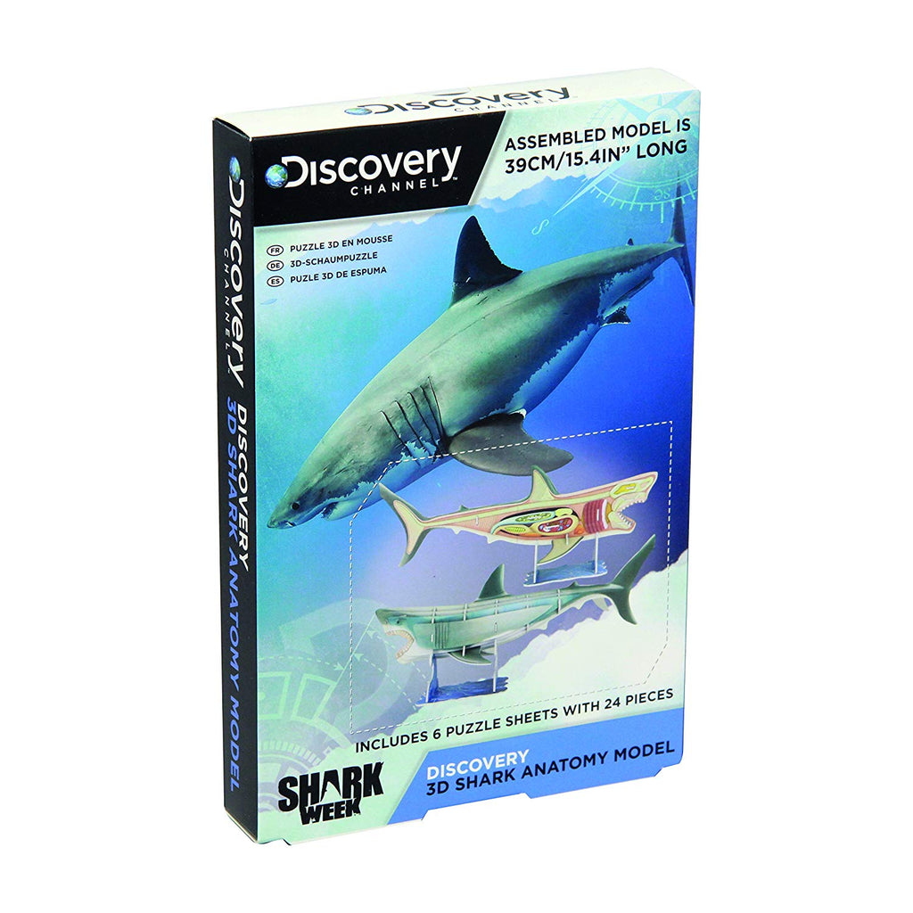 Discovery Channel 3D Shark Anatomy Model