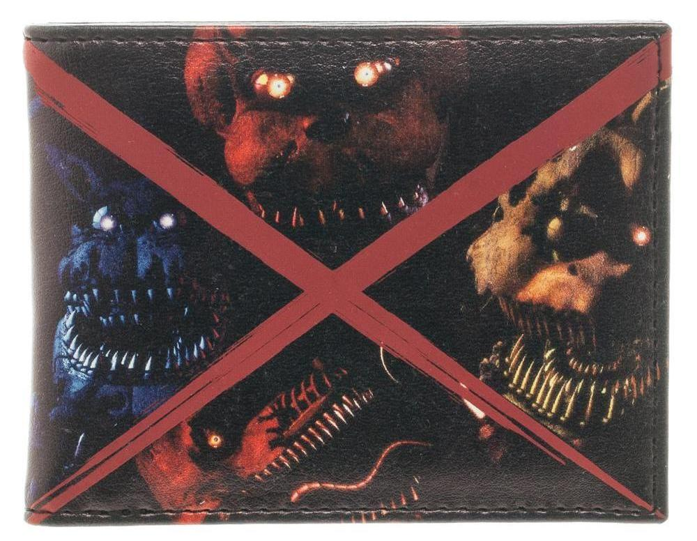 Five Nights At Freddy's Evil Faces wallet