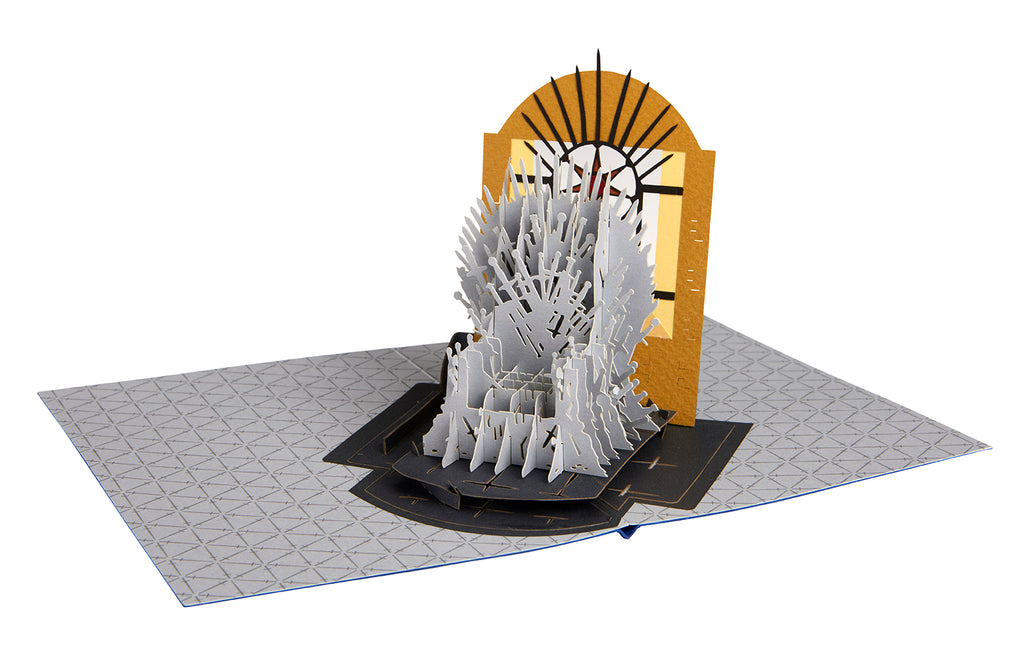Game of Thrones - Iron Throne Pop-Up Card