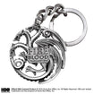 Game of Thrones - Targaryen Sigil Keychain (gun metal shiny)