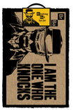 Breaking Bad - I Am the One Who Knocks Doormat
