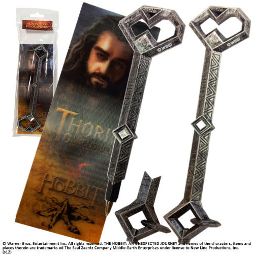 The Hobbit - Thorin Key Pen and Bookmark