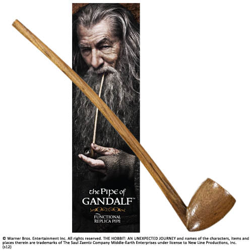 "The Hobbit - Gandalf's 9"" Pipe (functional)"