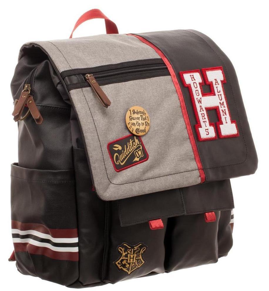 Harry Potter - Hogwarts alumni convertible bag/bacpack