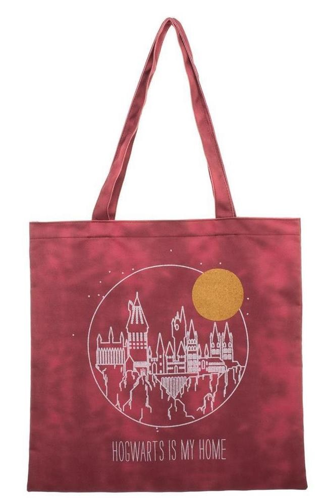 Harry Potter - Hogwarts Is My Home Canvas Tote Bag