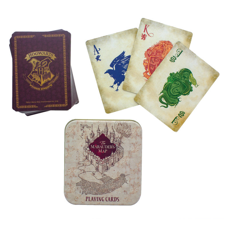Harry Potter - Marauders Map Playing Cards