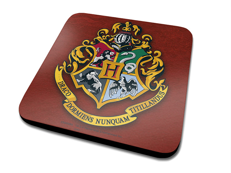 Harry Potter - (Hogwarts Crest) Coaster