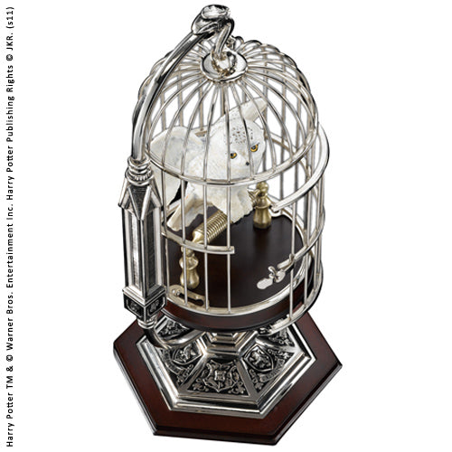 Harry Potter - Miniature Hedwig In Cage