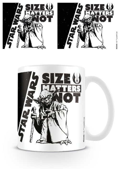 Star Wars - Size Matters Not Mug