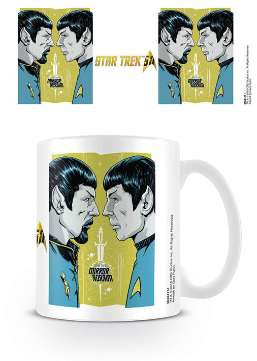 Star Trek - Mirror Mirror 50th Anniversary Mug