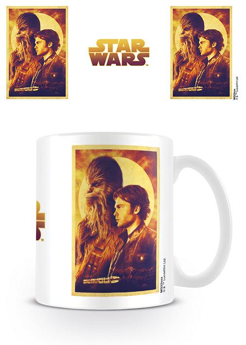Star Wars - Solo: A Star Wars Story (Han and Chewie) Mug