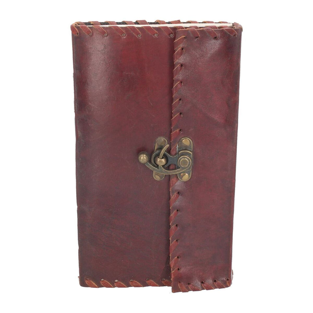 Leather Journal with Lock 14cm x 23cm