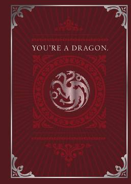 Game of Thrones - Dragon Pop-Up Card