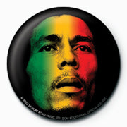 Bob Marley (Face) Badge