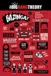 The Big Bang Theory - Infographic Maxi Poster