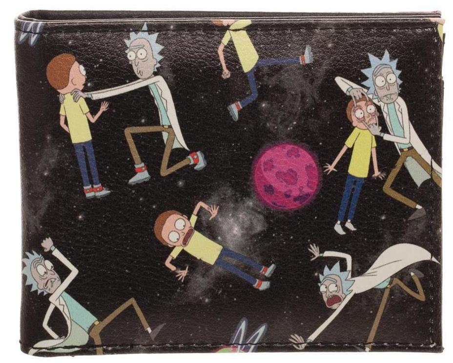 Rick and Morty - Quickturn Wallet