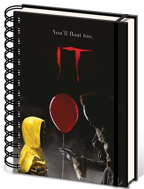 IT (Pennywise & Georgie) Notebook