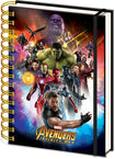 Marvel - Avengers Infinity War Notebook