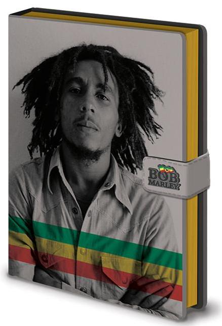 Bob Marley (Photo) Notebook