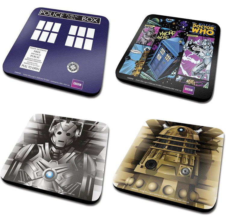 Doctor Who - Coasters Set