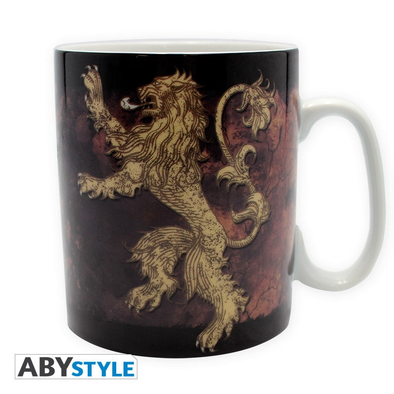 Game of Thrones - Mug - 460 ml Lannister - with box
