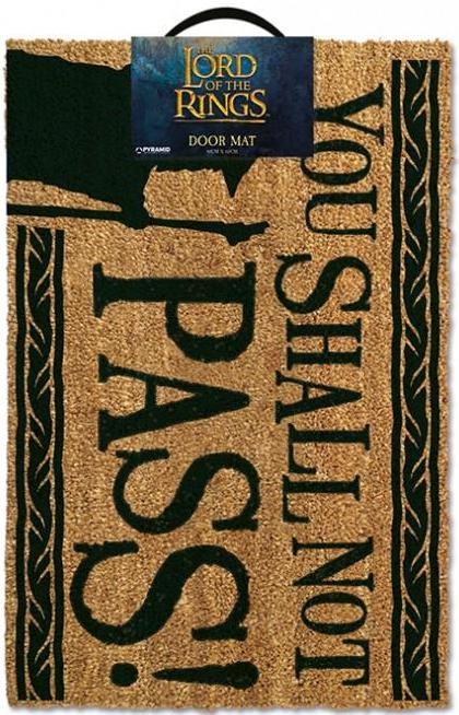 Lord Of The Rings - You Shall Not Pass Doormat