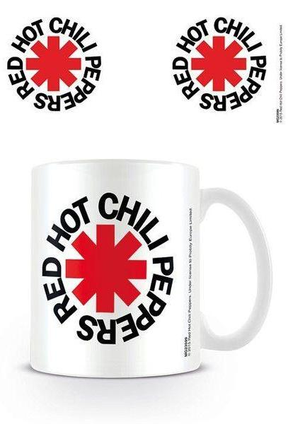 Red Hot Chili Peppers - Logo White Mug