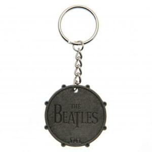 The Beatles - Bass Drum - Metal Keychain
