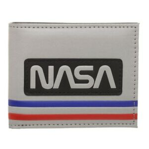 NASA - Silver bifold wallet