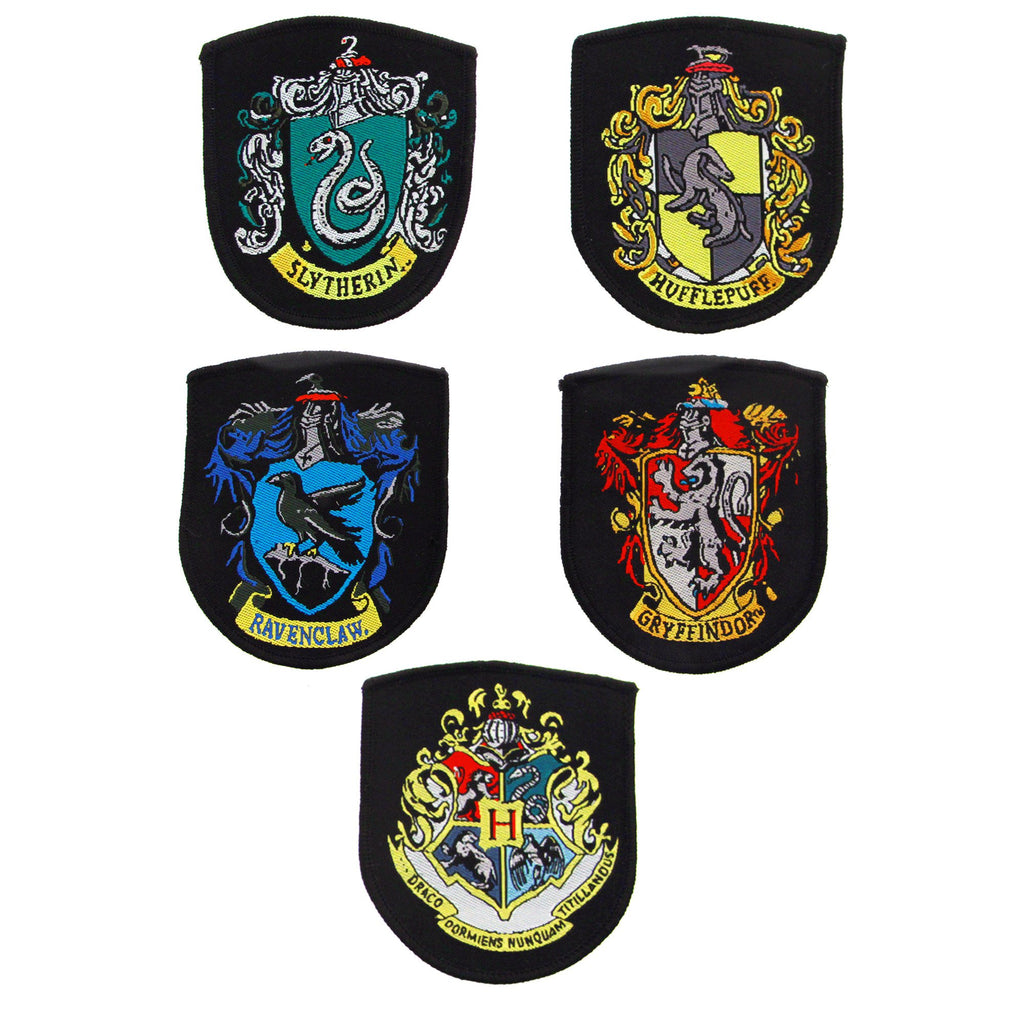 Harry Potter - Crest/Patch - Set of 5 Harry Potter Crests/Patches