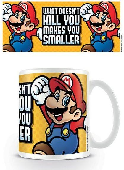 Super Mario - Makes You Smaller Mug