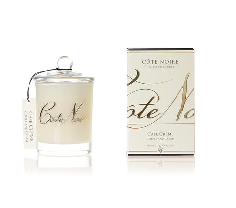 Côte Noire 185g Soy Blend Candle - Coffee and Cream