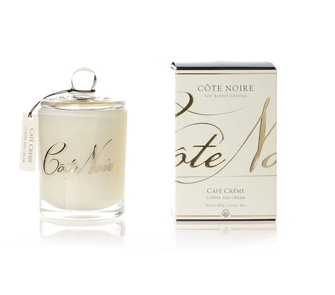 Côte Noire 450g Soy Blend Candle - Coffee and Cream