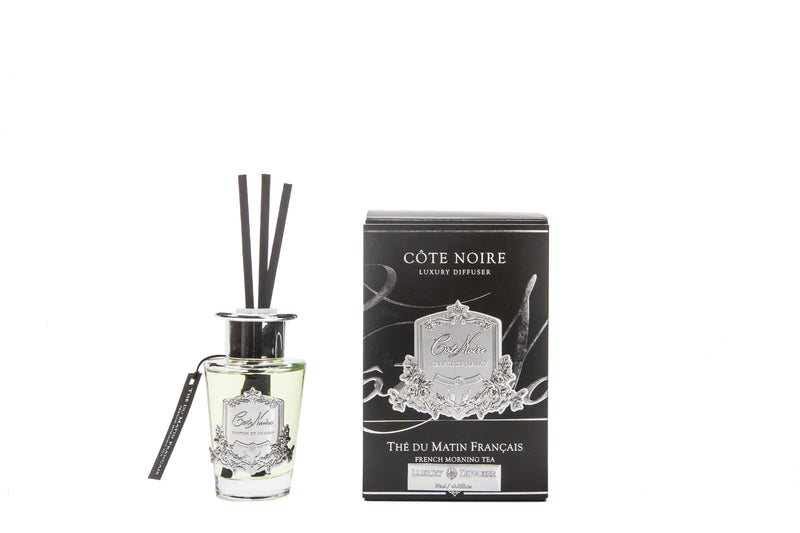 Cote Noire 100ml Diffuser Set - French Morning Tea - silver - GMSS15001