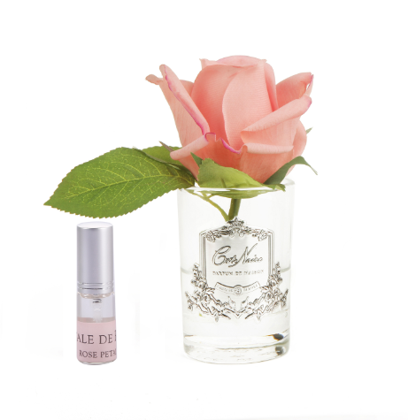 Cote Noire Perfumed Natural Touch Rose Bud - Clear - White Peach - GMR45