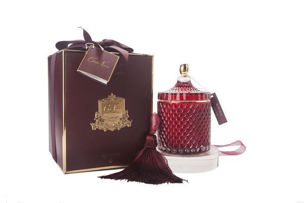 Grand Red Art Deco Candle - Rose Oud - GML45011