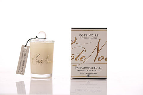 Côte Noire 75g Soy Blend Candle - Grapefruit & Brown Sugar