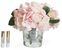 Cote Noire - Hydrangea's & Rose Buds - Pink Blush - LHRB03