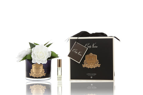 Côte Noire Perfumed Natural Touch Triple Gardenia - Black - GMGB03