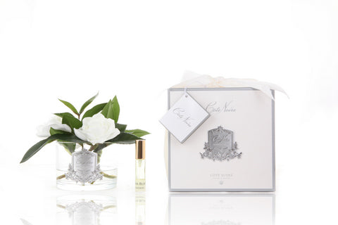 Côte Noire Perfumed Natural Touch Triple Gardenia - Cream - Clear - GMGC03