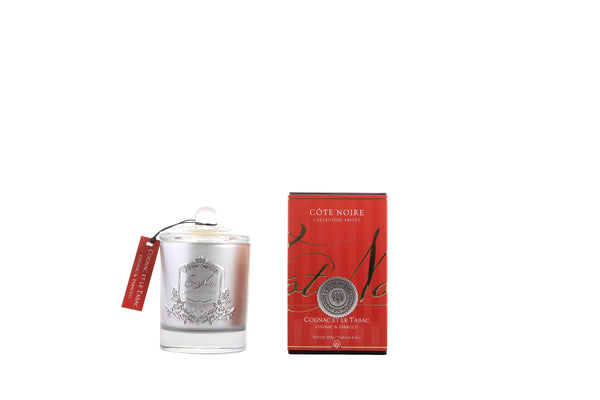 Cognac & Tobacco - Silver Badge Candles