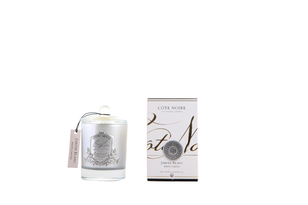 White Garden - Silver Badge Candles