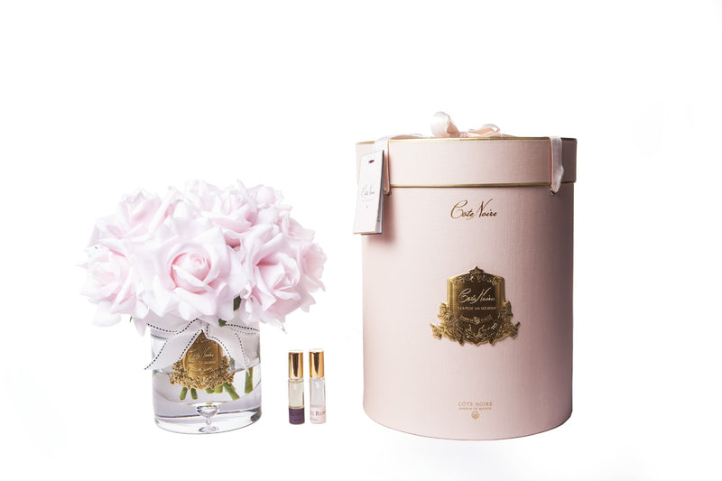 Cote Noire - Luxury Grand Bouquet - Gold badge - French Pink - pink box - LTW03
