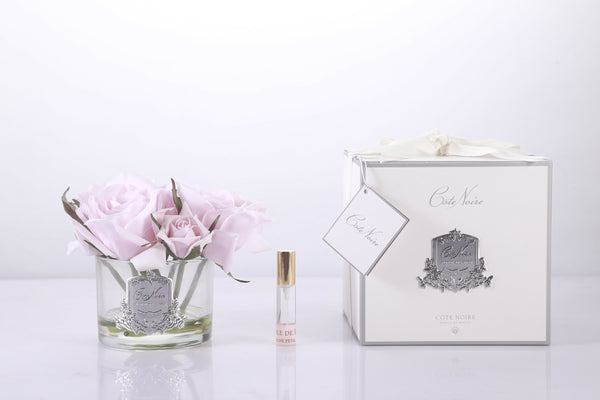 Cote Noire Perfumed Natural Touch 5 Roses - Clear - French Pink - GMR66